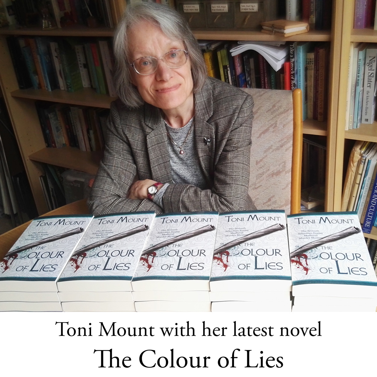 Toni Mount and The Colour of Lies